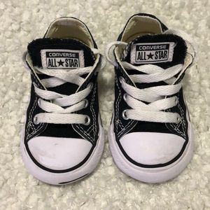 Converse toddler sneakers, size 5